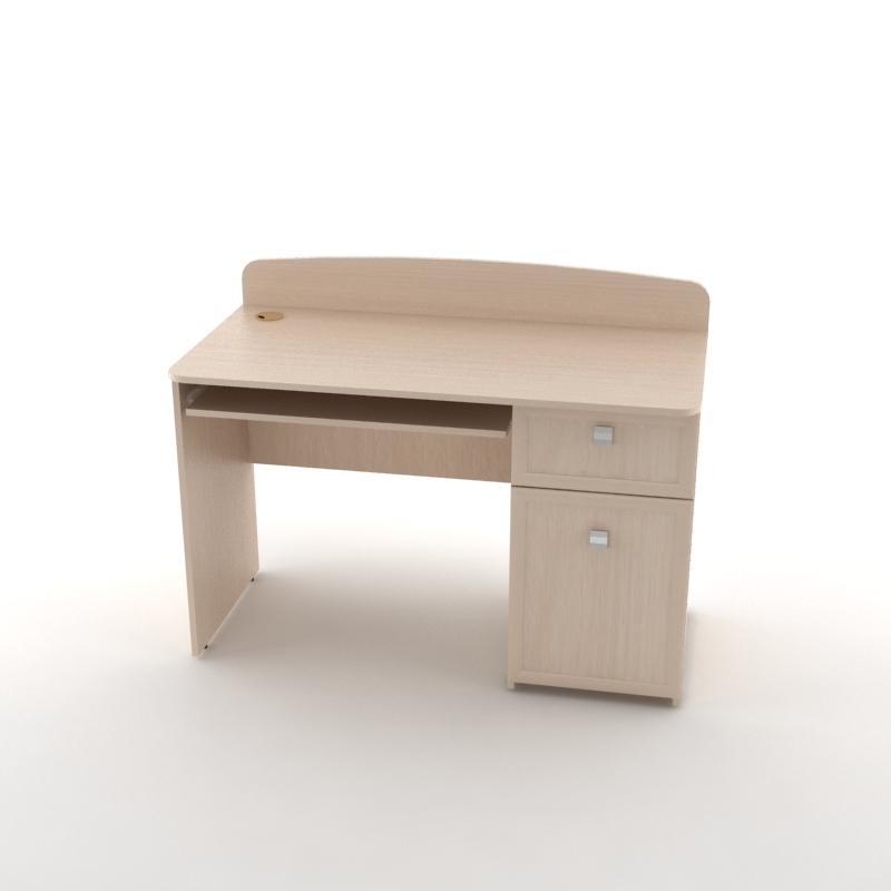 стол письменный рио дуб молочный