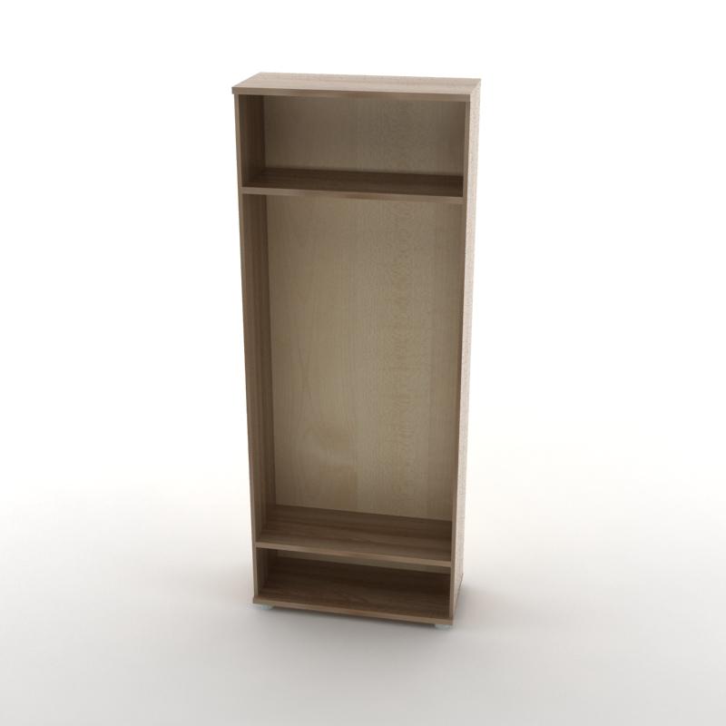 каркас шкафа для одежды  темный