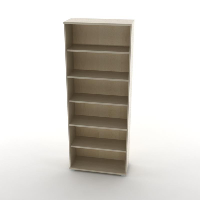 каркас шкафа для документов высокий светлый
