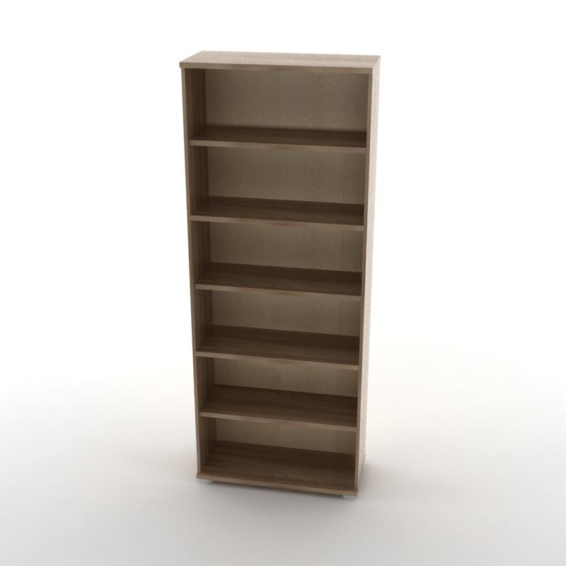 каркас шкафа для документов темный