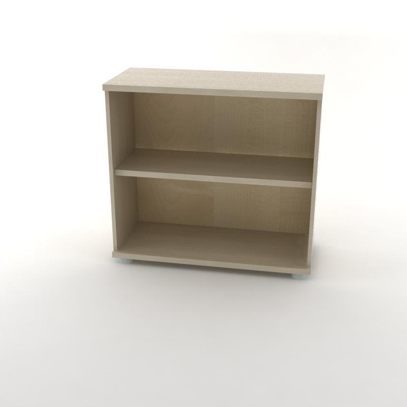 каркас шкафа для документов низкий светлый
