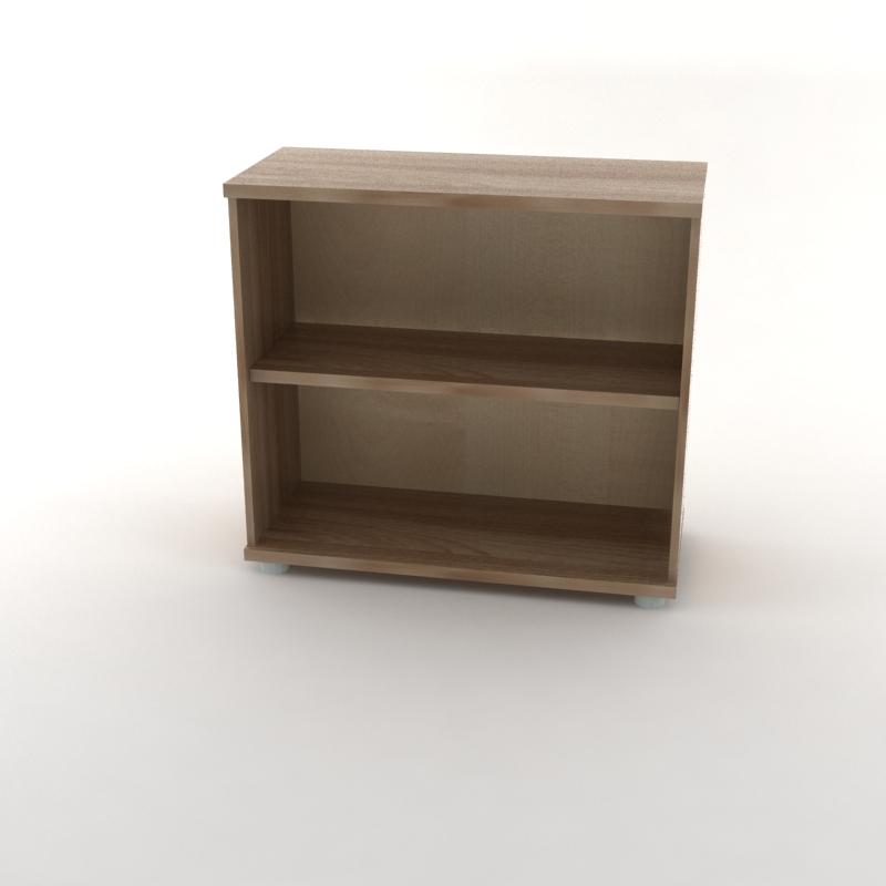 каркас шкафа для документов низкий темный