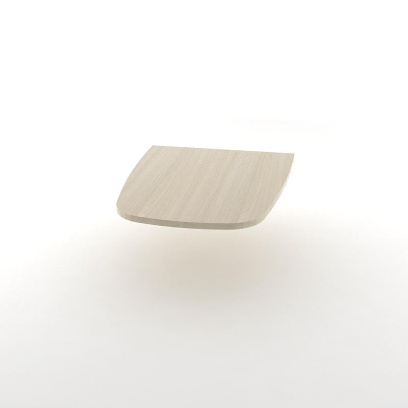 стол приставной светлый 900*700*25