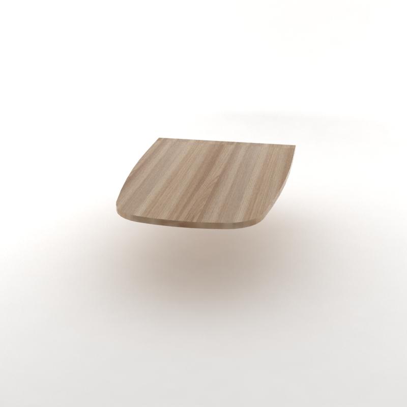 стол приставной темный