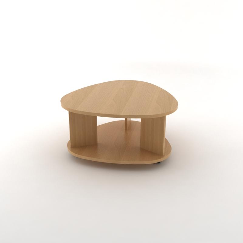 стол журнальный 01ольха