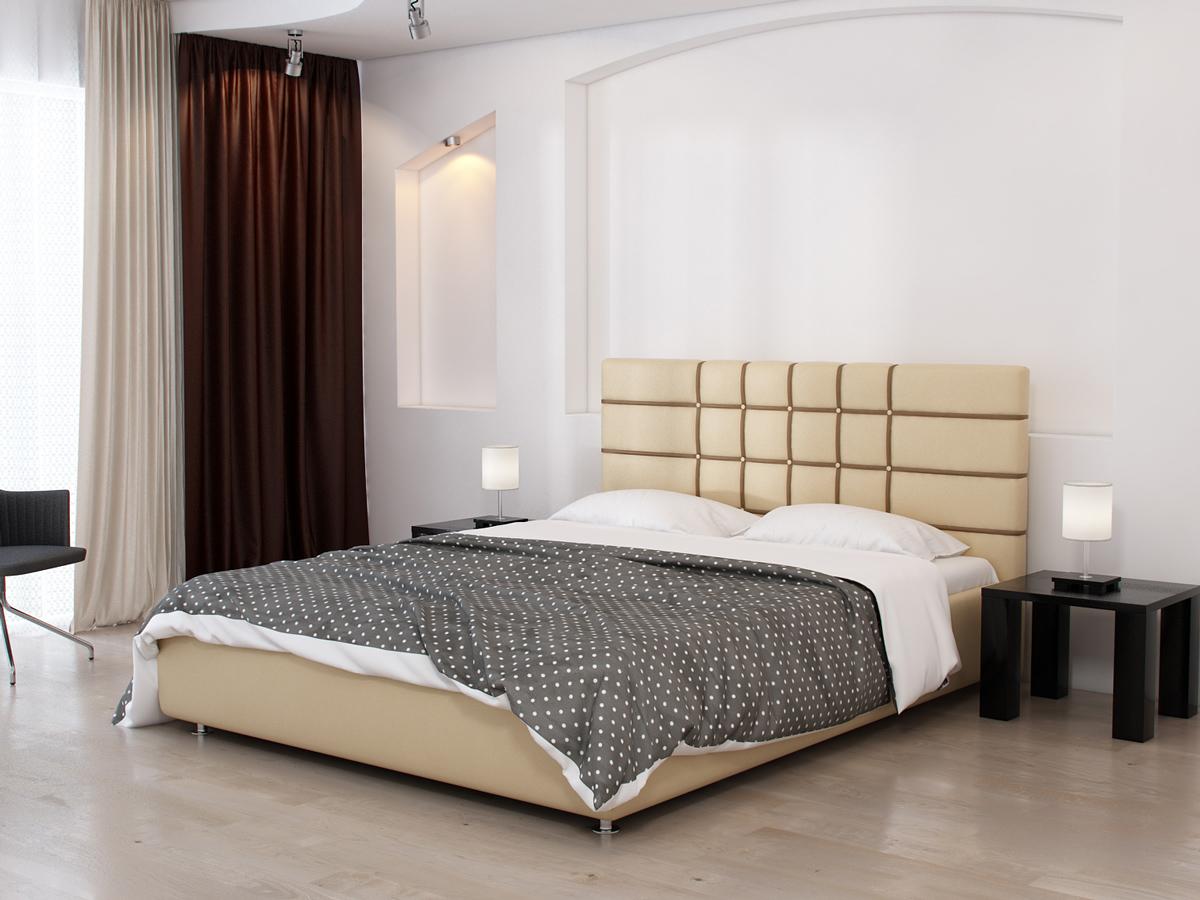Кровать-бежевая-Беатрис